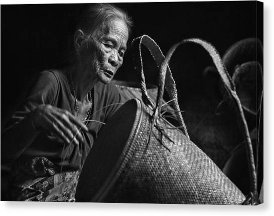Mood Canvas Print - Concentration by Dodyherawan