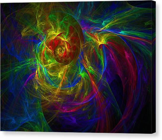 Conceptual Alchemy Canvas Print