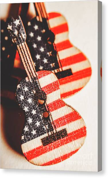 Bluegrass Canvas Print - Concert Of Stars And Stripes by Jorgo Photography - Wall Art Gallery
