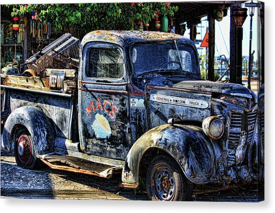 Conch Truck Canvas Print