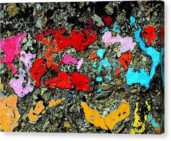 Concrete Abstraction Canvas Print