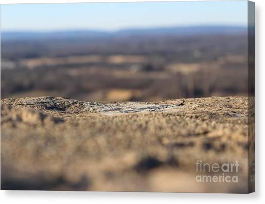 Concrete Landscape 1 Canvas Print