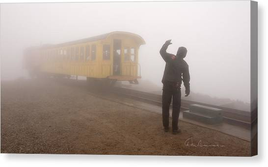 Conductor In The Clouds 7195 Canvas Print
