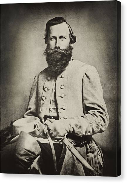Confederate Jeb Stuart Canvas Print