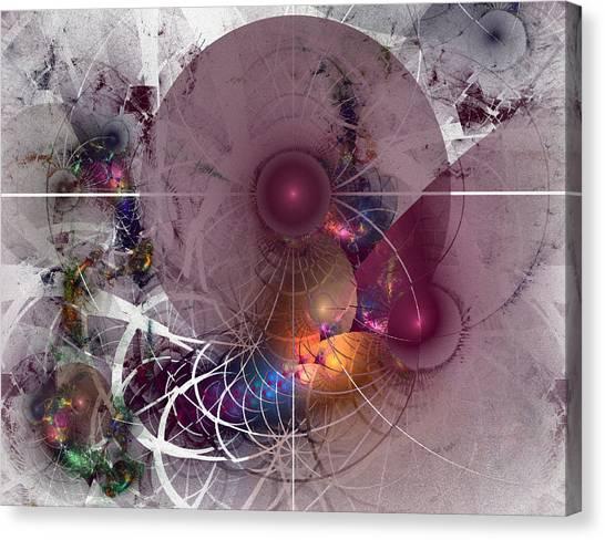 Confetti - Fractal Art Canvas Print