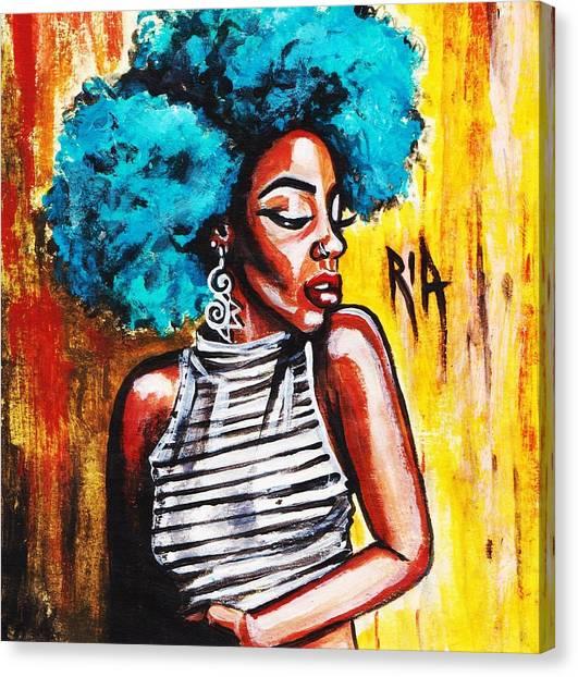 Canvas Print - Confidence by Artist RiA