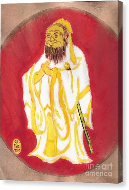Confucius Wisdom Canvas Print