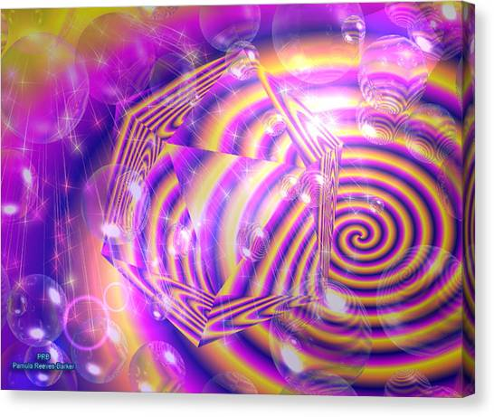 Canvas Print - Confusion by Pamula Reeves-Barker