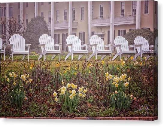 Congress Hall Spring Canvas Print