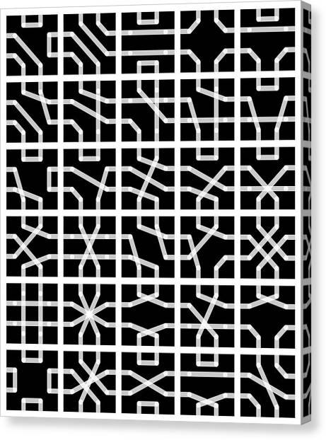 Connect - 24 Canvas Print