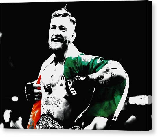 Anthony Martial Canvas Print - Conor Mcgregor by Brian Reaves