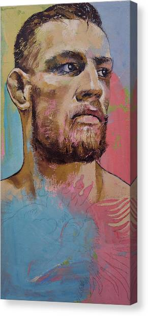Street Fighter Canvas Print - Conor by Michael Creese