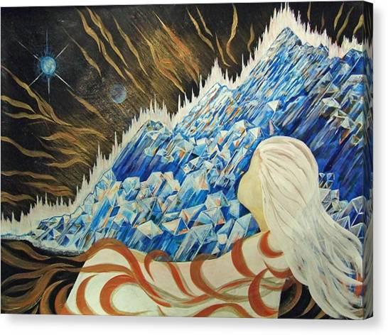 Conscious Dream Canvas Print by Pam Ellis