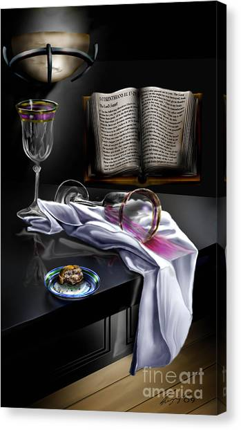 Consecrated Canvas Print