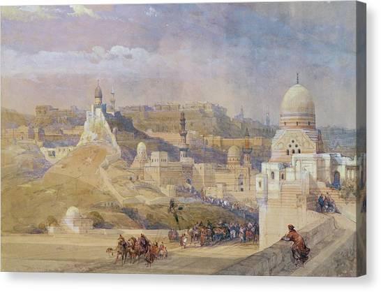 Turkish Canvas Print - Constantinople by David Roberts