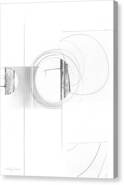 Construction No. 4 Canvas Print