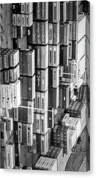Container Library Canvas Print