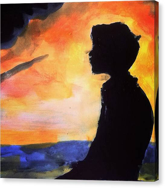 Mercy Canvas Print - Contemplating On Your Love by Love Art Wonders By God