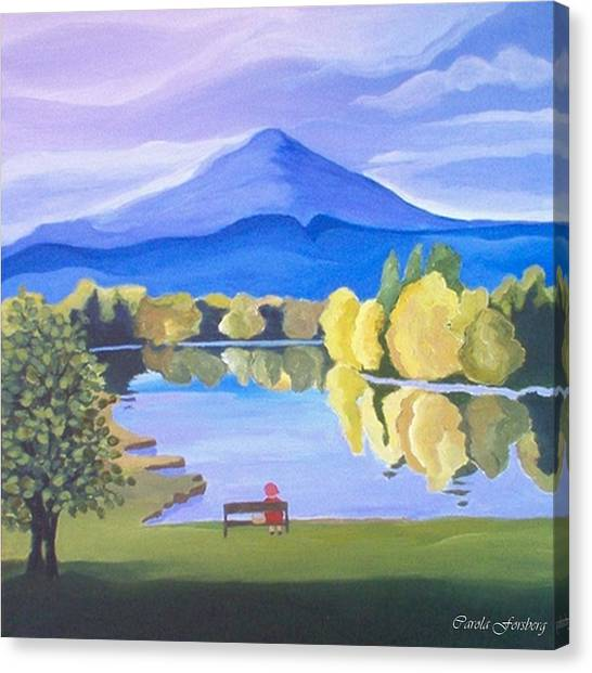 Contemplation  Canvas Print by Carola Ann-Margret Forsberg