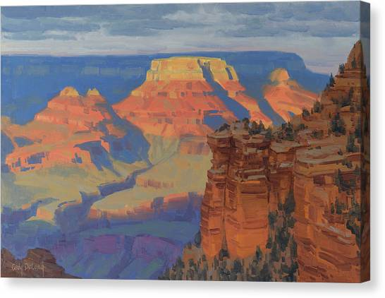 Grand Canyon Canvas Print - Contemplation by Cody DeLong