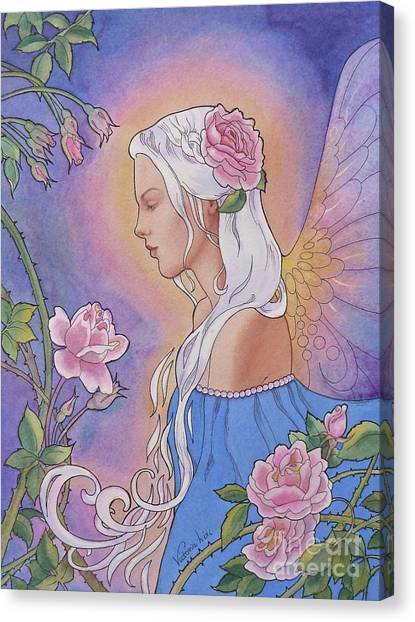 Contemplation Of Beauty Canvas Print