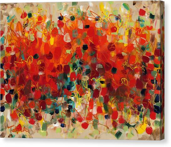 Contemporary Art Thirty-three Canvas Print