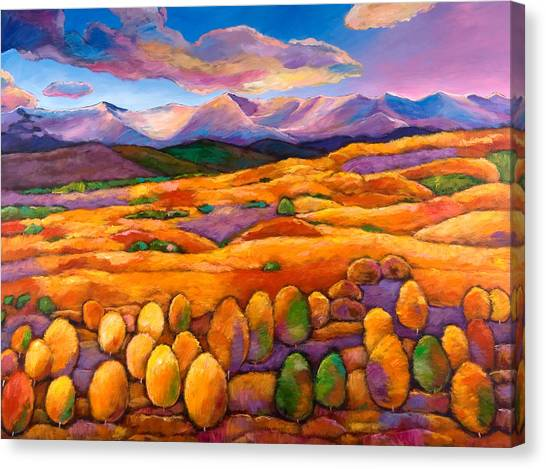 New Mexico Canvas Print - Contentment by Johnathan Harris