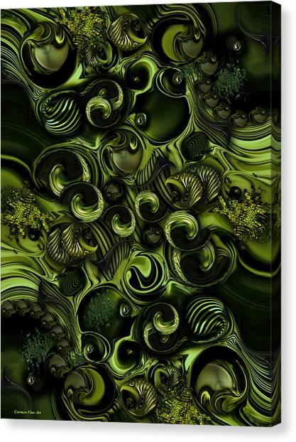 Context Of Dreams - Vegetable Canvas Print
