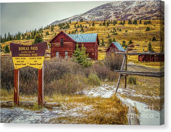 Pacific Division Canvas Print - Continental Divide by Jon Burch Photography