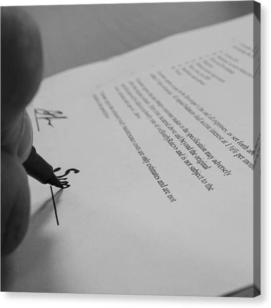 Finches Canvas Print - #contract #sales #pen #ink #hand by Gary Finch