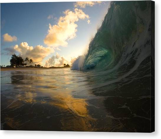Bodyboard Canvas Print - Contrasting Forces by Benen  Weir