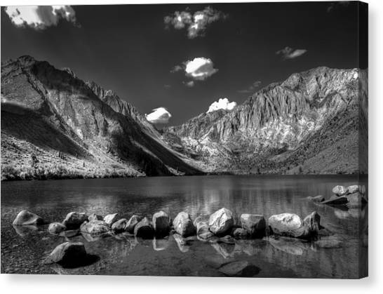 Convict Lake Near Mammoth Lakes California Canvas Print by Scott McGuire