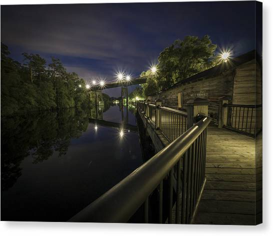 Conway Riverwalk Morning Canvas Print