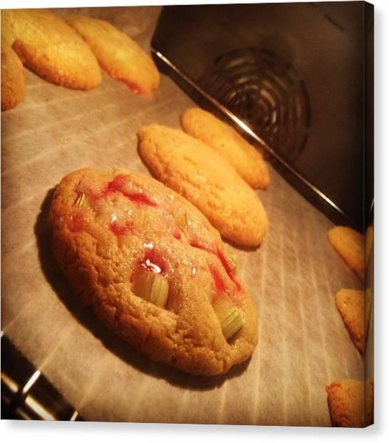 Meals Canvas Print - Cookies!!! Nom Nom #cookies #tasty #love by Scoff Cakes