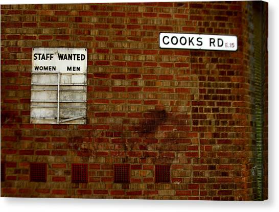 Cooks Wanted Canvas Print by Jez C Self