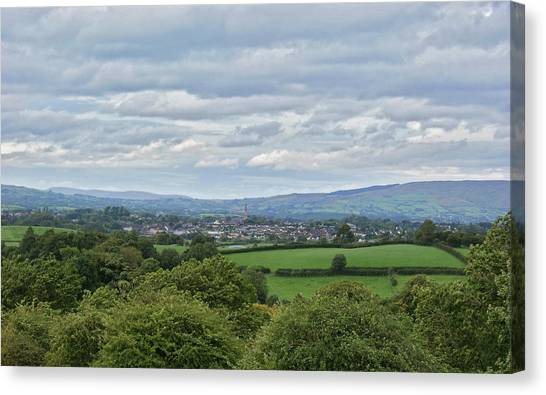 Cookstown Viewed From Tullyhogue Fort Canvas Print
