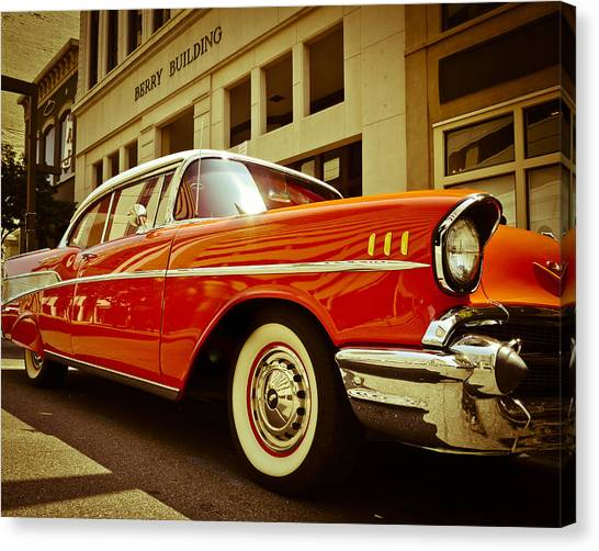 Cool '57 Canvas Print