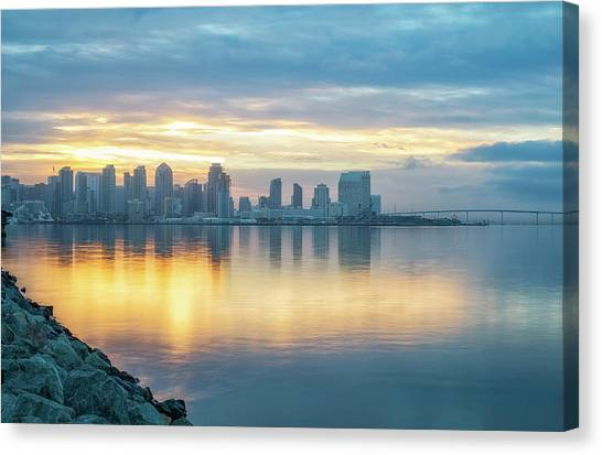 Cool And Warm Canvas Print
