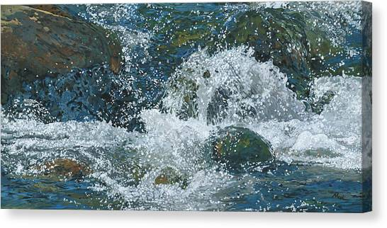 Canvas Print - Cool Blue by Nadi Spencer