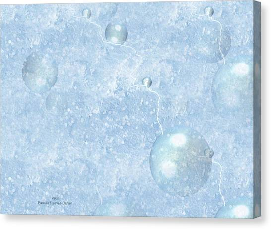 Canvas Print - Cool Blue by Pamula Reeves-Barker