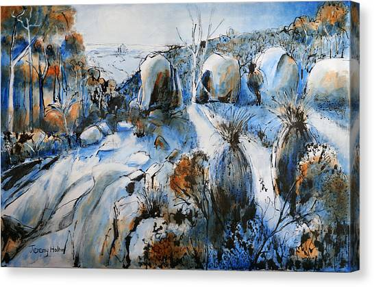 Cool Blues Canvas Print
