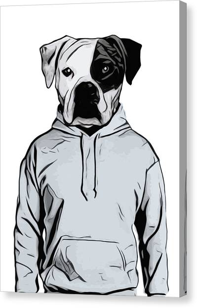 Boxers Canvas Print - Cool Dog by Nicklas Gustafsson