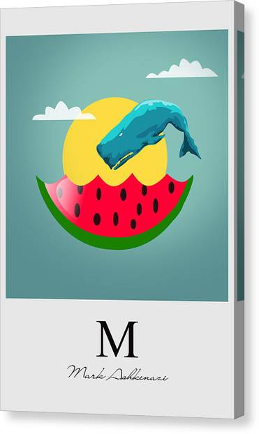Melons Canvas Print - Cool  by Mark Ashkenazi