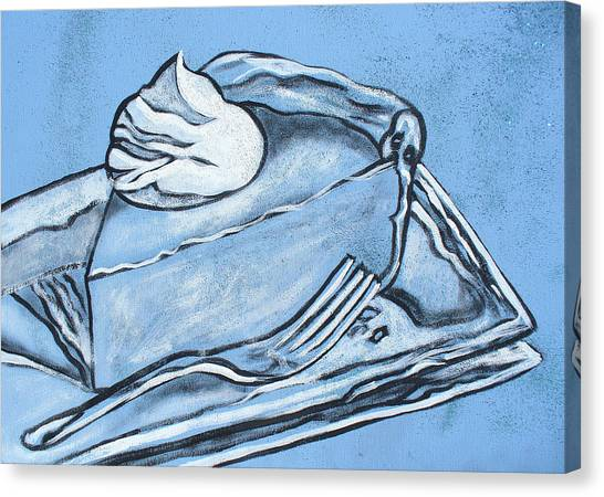 Cool Pie Canvas Print