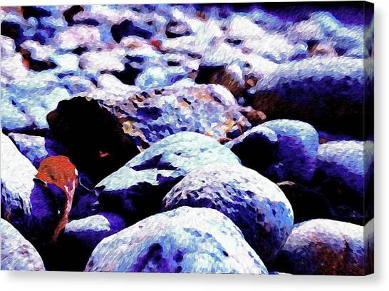 Cool Rocks- Canvas Print
