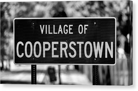 Ty Cobb Canvas Print - Cooperstown by Stephen Stookey