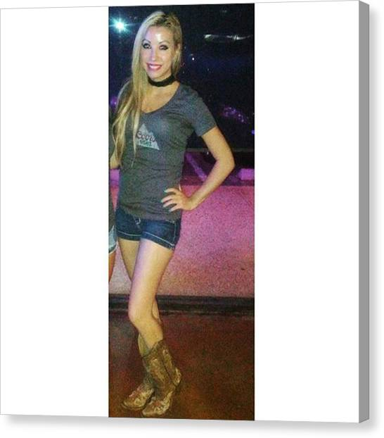 Texas A Canvas Print - #coorslight #coors #promolife by Crystal Foster