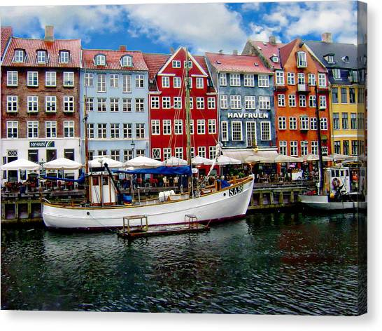 Copenhagen - Denmark Canvas Print