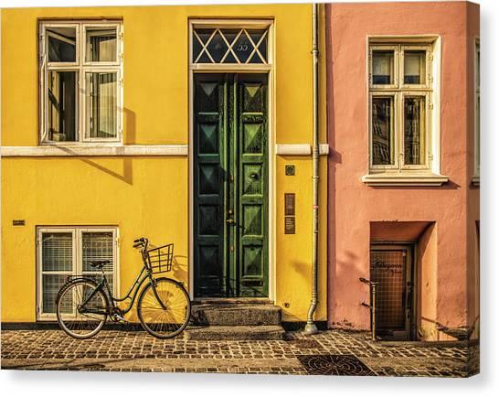 Copenhagen Transportation Canvas Print