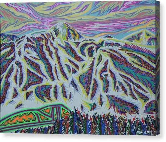 Copper Mountain Canvas Print